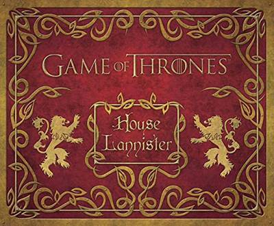Game of Thrones Lannister Deluxe Stationary Kit: House Lannister Deluxe Stationery Set