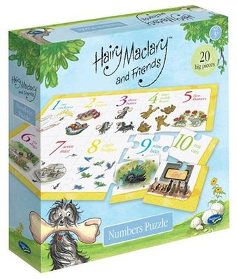 Hairy Maclary and Friends Numbers Puzzle
