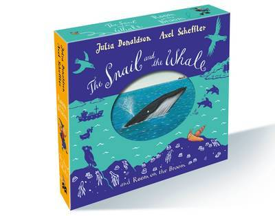 The Snail and the Whale & Room on the Broom (Board Book Gift Slipcase)