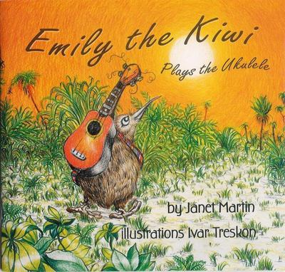Emily the Kiwi Plays the Ukulele