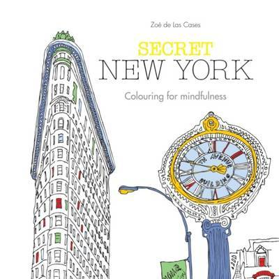 Secret New York: Colouring for Mindfulness