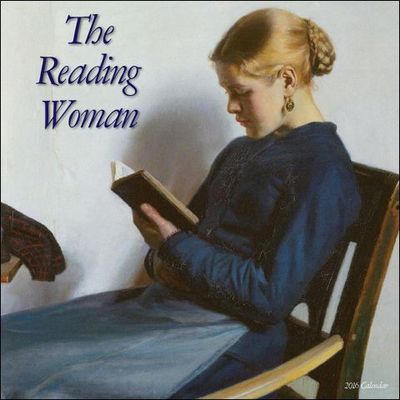 2016 Reading Woman Wall Calendar