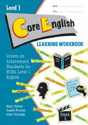 ESA NCEA Level 1 CORE English  Learning Workbook