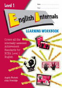 ESA NCEA Level 1 English Internals Learning Workbook