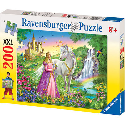 Rburg - Princess with Horse Puzzle 200pc