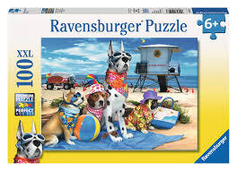 Ravensburger - No Dogs on the Beach 100-piece