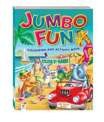 Jumbo Fun Colouring and Activity Book: Beach