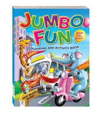 Jumbo Fun Colouring and Activity Book: Town