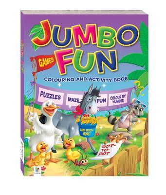 Jumbo Fun Colouring and Activity Book: Farm