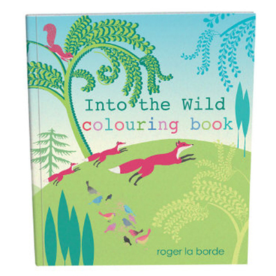 Into the Wild Colouring Book