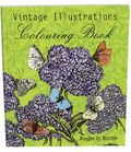 Vintage Illustrations Colouring Book