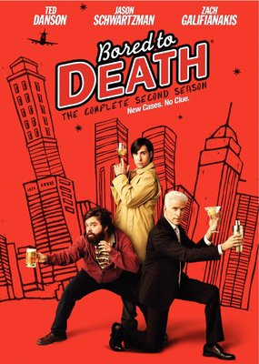 Bored to Death Season 2 Dvd