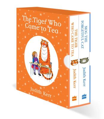 The Tiger Who Came to Tea & Mog the Forgetful Cat (Board Box Set)