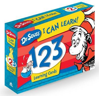 Dr Seuss I Can Learn! 123 Learning Cards