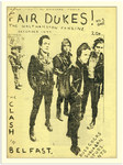 The Clash Fair Dukes Punk Fanzine Cover Poster
