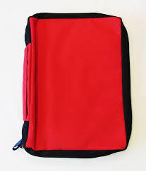 Bible Cover KL Red Lge