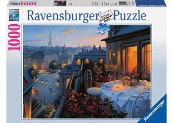 Ravensburger Paris Balcony Puzzle 1000 pc RB19410-0