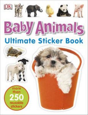 Baby Animals (Ultimate Sticker Book)