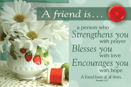 Poster Sml: 34893 A Friend Is...