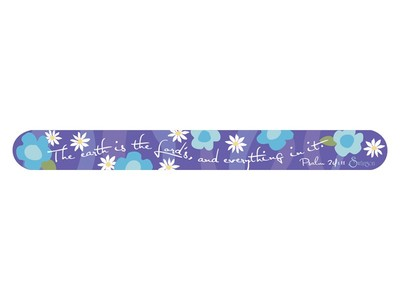 Nail files Purple Psalm 24:11