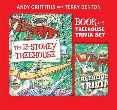 The 13-Storey Treehouse (Book & Trivia Cards Pack)