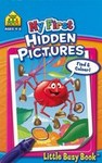 My First Hidden Pictures (School Zone Little Busy Books)