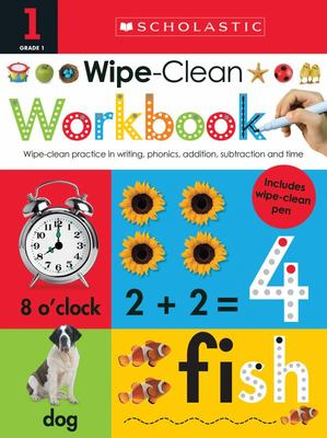 Wipe-Clean Workbook: Grade 1