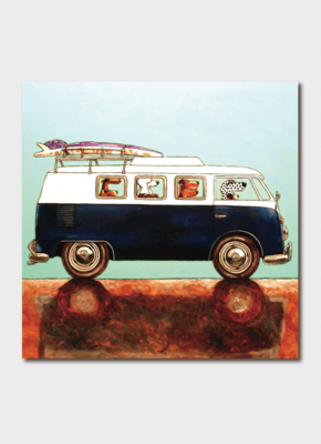 Card - Surf Dudes  BIP 3554