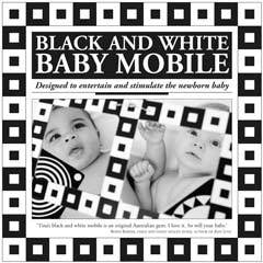 Black and White Baby Mobile