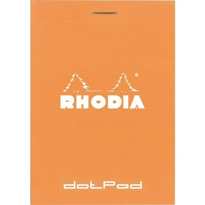 Rhodia #12 dot grid orange