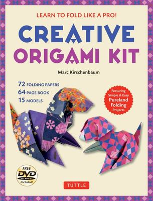 Creative Origami Kit: Learn to Fold Like a Pro! [Dvd; 64-Page Book; 72 Folding Papers]