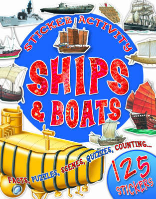 Sticker Activity Ships and Boats