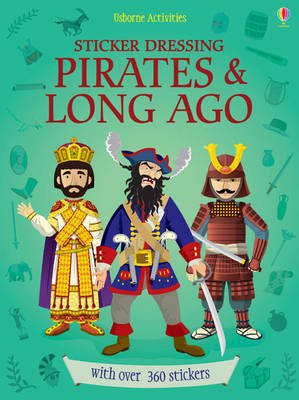 Pirates and Long Ago Bind-up (Sticker Dolly Dressing)