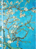 LNB78  Almond Blossom by Van Gogh Foiled Journal