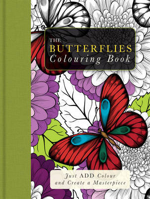 Adult Colouring-Butterflies