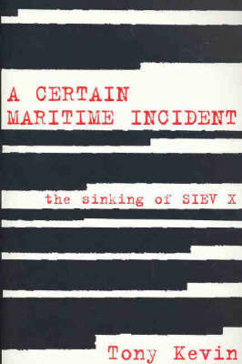 A CERTAIN MARITIME INCIDENT SINKING OF