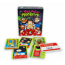 Too Many Monkeys: A Totally Bananas Card Game
