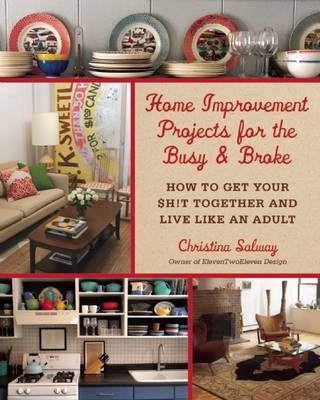 Home Improvement Projects for the Busy  Broke : How to Get Your $h!t Together and Live Like an Adult