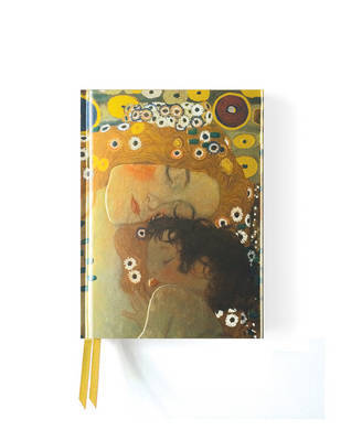 Foiled Pocket Journal - Klimt's Three Ages of Woman