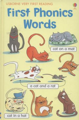 First Phonics Words (Usborne Very First Reading)