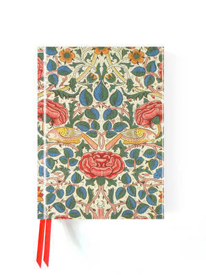 Foiled Journal - Rose by William Morris