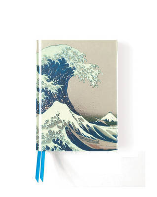 Foiled Pocket Journal - Hokusai's the Great Wave