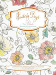 Painterly Days Flowers: The Flower Watercoloring Book for Adults