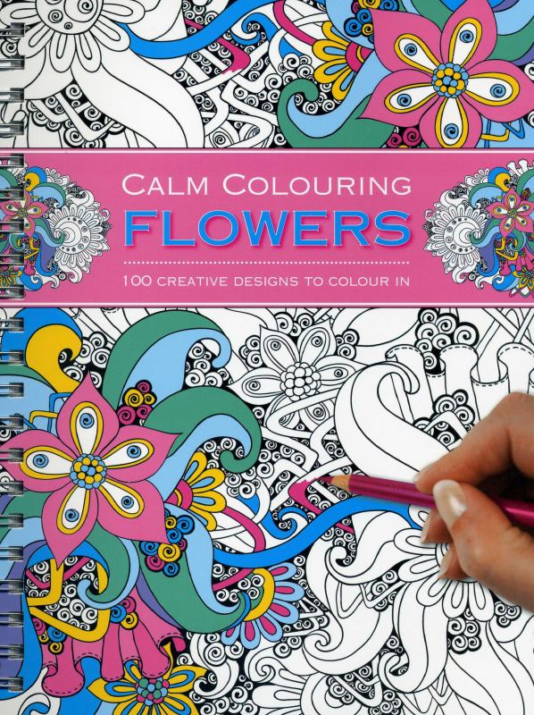 Calm Colouring: Flowers