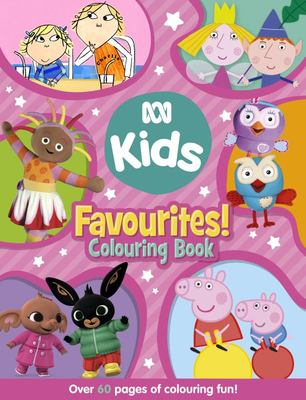 ABC KIDS Favourites! Colouring Book (Pink Edition)