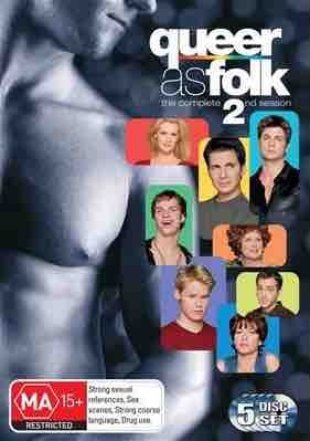 Queer As Folk US Season 2 Box Dvd