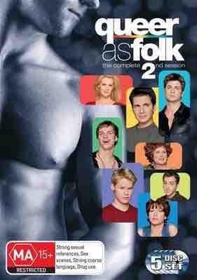 Queer As Folk US Season 2 Box Dvd