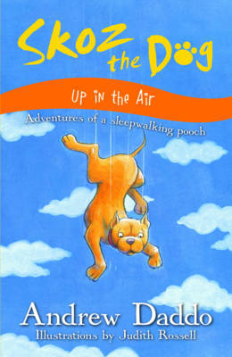 Skoz the Dog Up in the Air