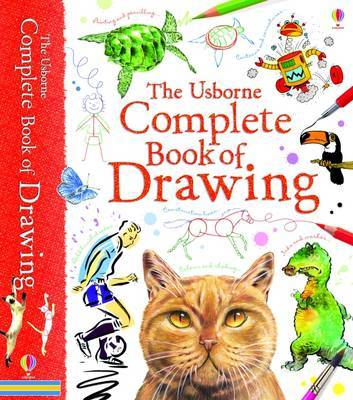 The Usborne Complete Book of Drawing (HB Spiral Bound)
