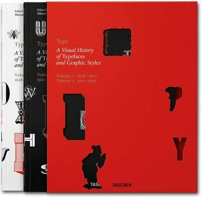 Type A Visual History of Typefaces & Graphic Styles  Vol 1